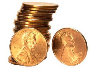 US Pennies